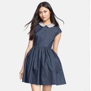 Like new: Kate Spade BLING Denim Kimberly Dress